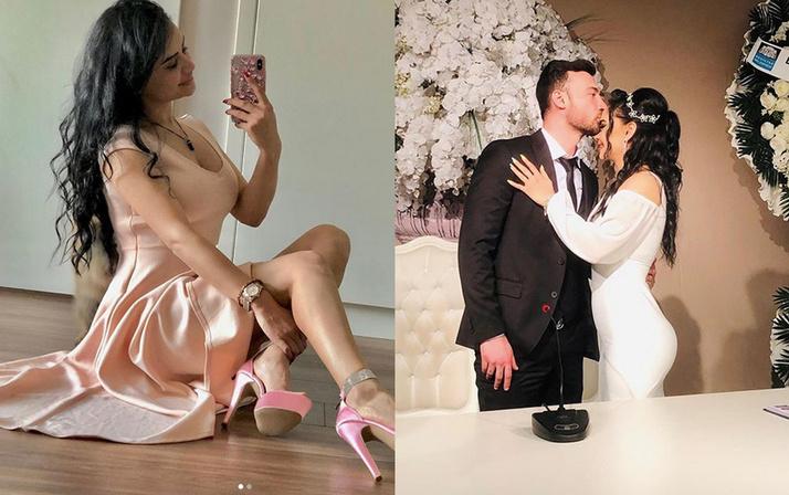 Naz Mila evlendi İzdivaçın skandal gelin adayının eşi bakın kim