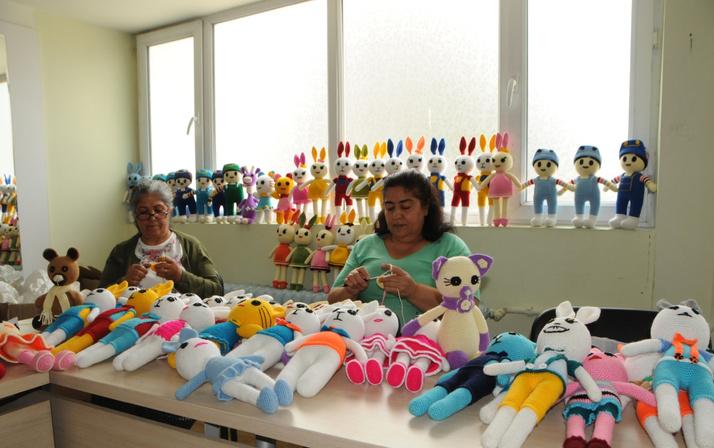 Tunceli'li kadınlar el emekleriyle ekonomiye can veriyorlar
