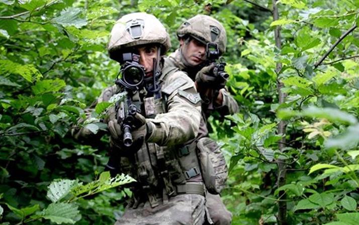 PKK'nın Karadeniz'deki en büyük silah deposuna ulaşıldı