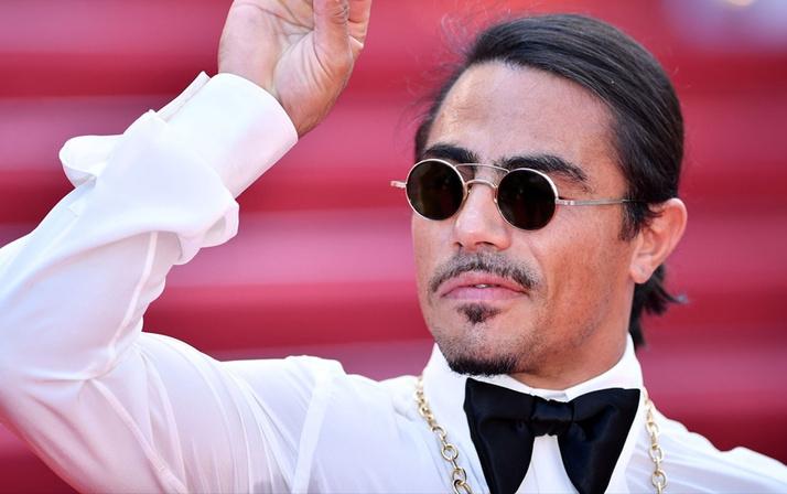 Cannes Film Festivali'nde ödül alan ilk kasap! Nusret'ten tarihi başarı