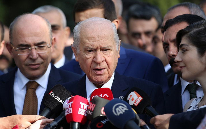 Devlet Bahçeli'den Ahmet Davutoğlu açıklaması