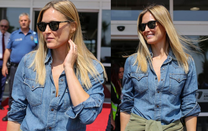 Top model Bar Refaeli Antalya'da