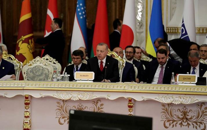 Erdoğan Tacikistan ziyaretini değerlendirdi
