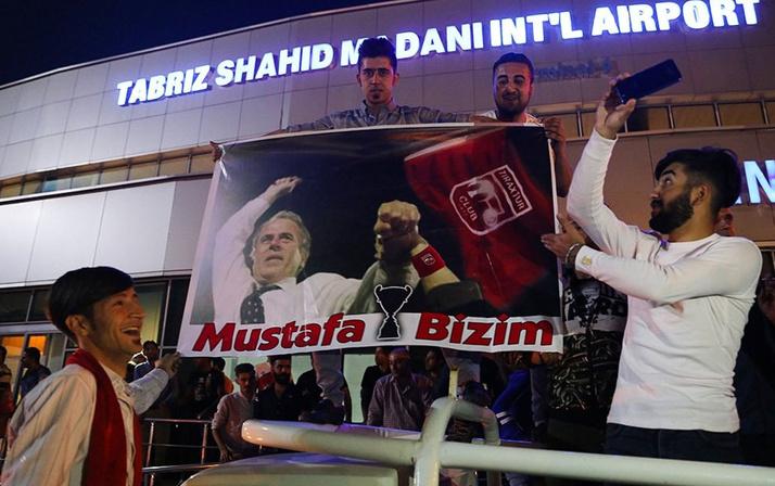 İran'da Mustafa Denizli çılgınlığı