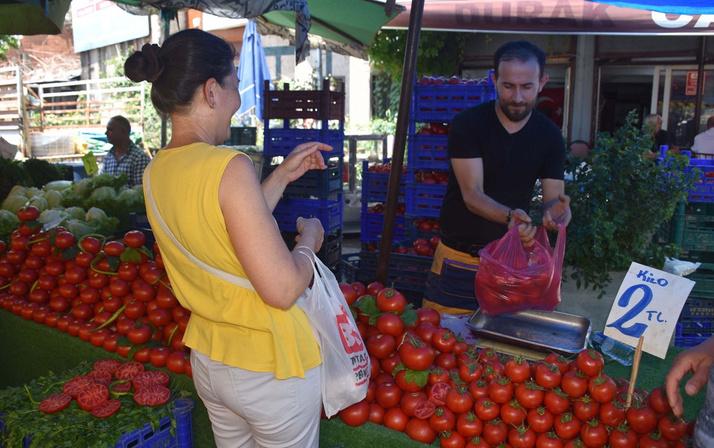 Sebze meyve fiyatları dip yaptı
