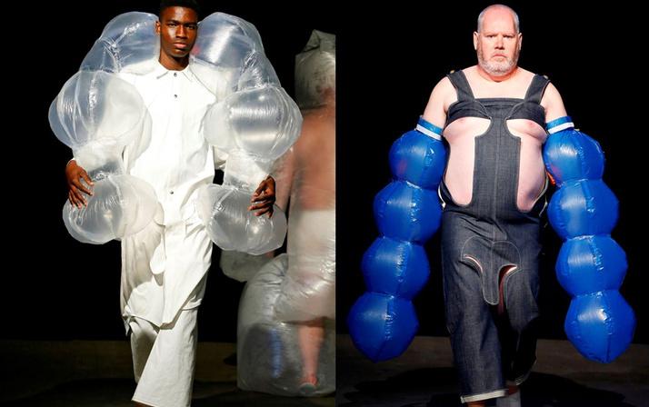Erkek modasının yönü herkesi şoke etti! Paris moda haftası 2020 koleksiyonu