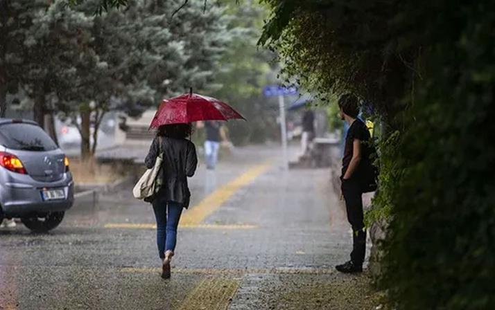 Meteoroloji az önce uyardı! Sağanak yağış aniden bastıracak