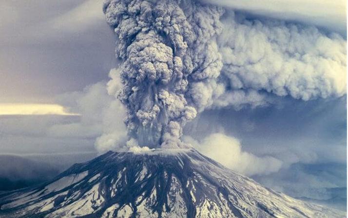 Uluslararası Uzay İstasyonu astronotları görüntüledi! Raikoke volkanının patlaması