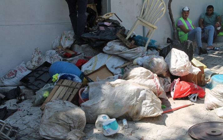 Mahalle sakinleri şikayet etti! Temizlik işleri ekipleri manzara karşısında hayrete düştü