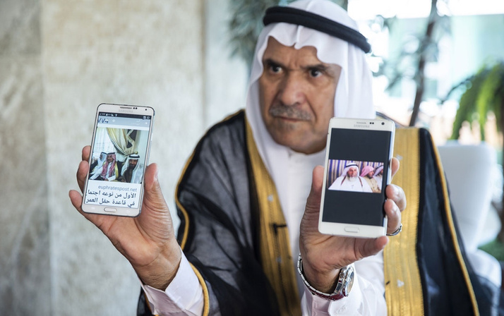 Suriyeli aşiret lideri görüntüleri açıkça gösterdi bomba patladı!