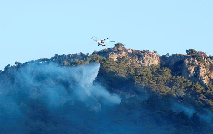Dalaman'da başladı Fethiye'ye sıçradı! Havadan müdahale ediliyor