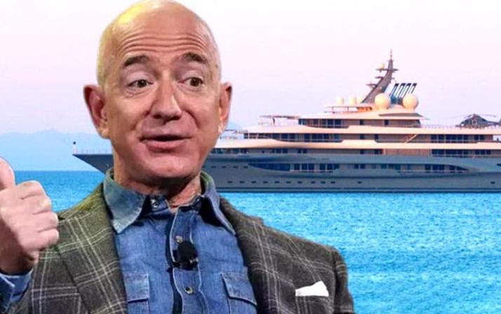 Cennet koylarını helikopterle gezdi! Bezos'un Türkiye tatili devam ediyor!