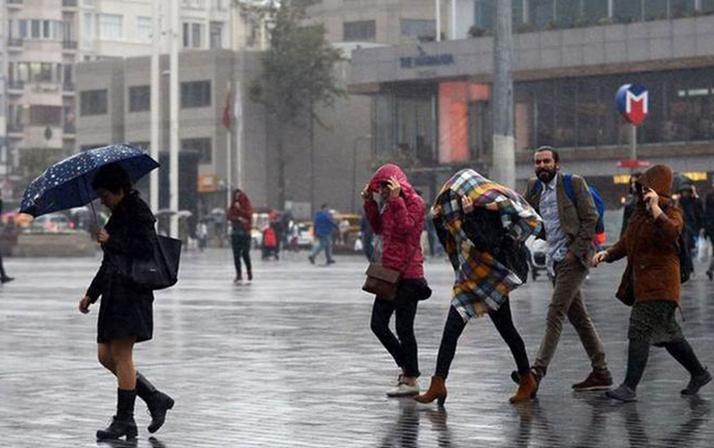 Meteoroloji'den kritik uyarı! Kuvvetli yağış etkisi altına alacak