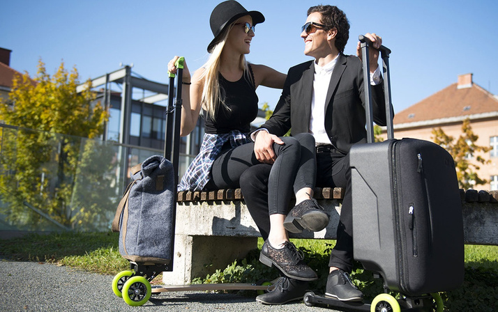 Yolculuk yapacaklara müjde! Yeni nesil akıllı bavullar geliyor işte özellikleri