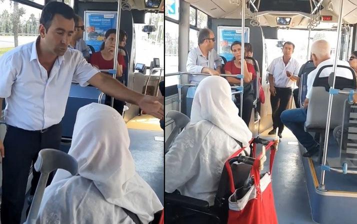 Antalya'da yaşlı teyze ile şoför tartıştı! Sosyal medya ikiye bölündü