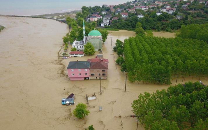 Düzce'deki sel felaketince acı tablo! Kararan hayatlar