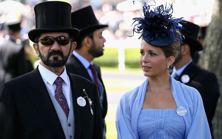 Yasak aşkın ardından kaçmıştı! Dubai Şeyhi Al Maktum ile Prenses Haya boşandı