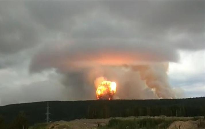 Rusya'da nükleer patlama: Ölüler var