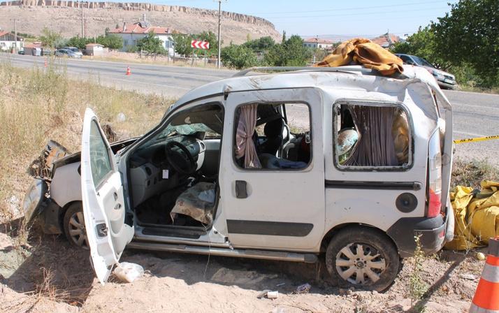 Aksaray'dan acı haber! Anne ve bebeği korkunç kazada öldü