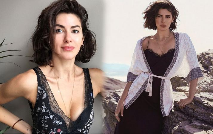 Nesrin Cavadzade rol arkadaşı Yiğit Kirazcı ile aşk yaşıyor dendi! Bakın ne açıklama yaptı