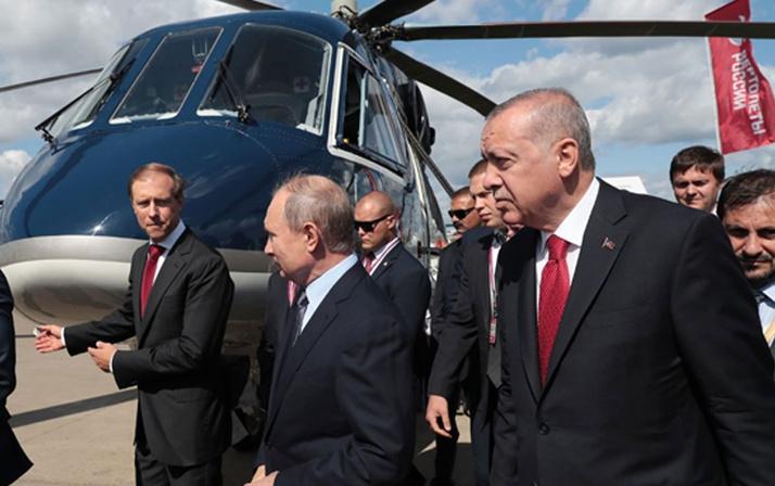 Erdoğan ve Putin'in helikopter pazarlığı! '8 milyon dolar bunun yanında arabamız hediye'