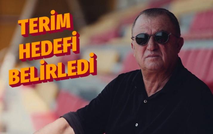 Fatih Terim Galatasaray'ın hedefini belirledi!