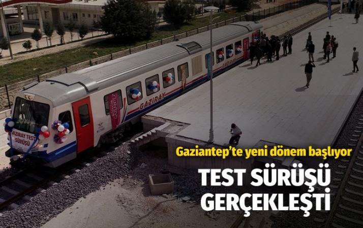 Gaziray'ın test sürüşleri Fatma Şahin'in katılımıyla gerçekleşti