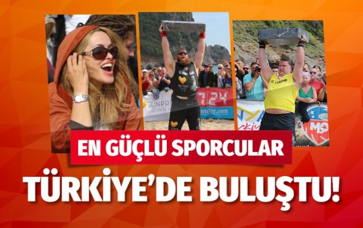 Dünyanın en güçlü sporcuları Antalya'da yarışıyor