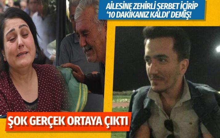 İzmir'deki ürküten olayda oğulları zehirli şerbeti içirip '10 dakikanız kaldı' demiş