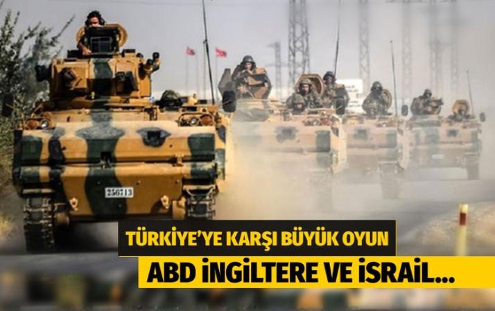 Türkiye'nin operasyonunu önlemek için DEAŞ kartını kullanıyorlar
