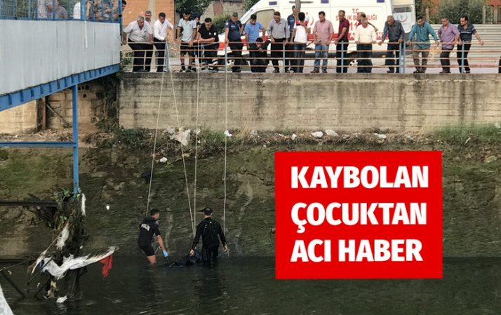 Adana'da sulama kanalında kaybolan çocuğun cesedi bulundu