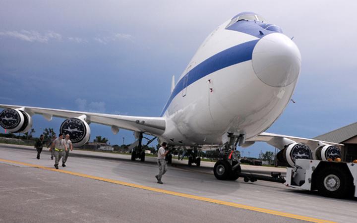 'Kıyamet uçağı' hazır nükleer füzeler yüklendi