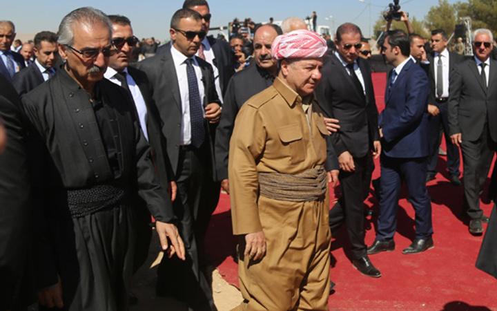 Tepkiyi gören Barzani diyaloğa sarıldı