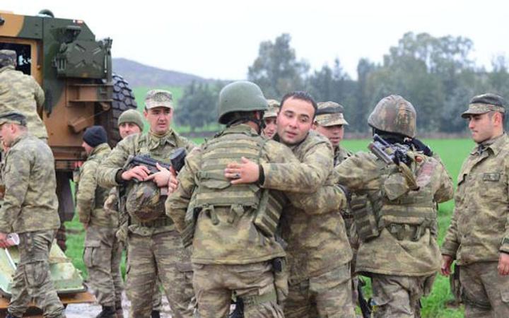 Afrin'e böyle uğurlandılar! Düğüne gidiyoruz...