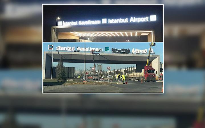 Yeni havalimanının adı açıklandı 3. havalimanının ismi İstanbul oldu