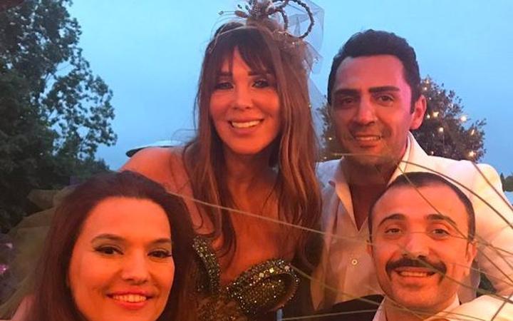 Seren Serengil'le Yaşar İpek evlendi!