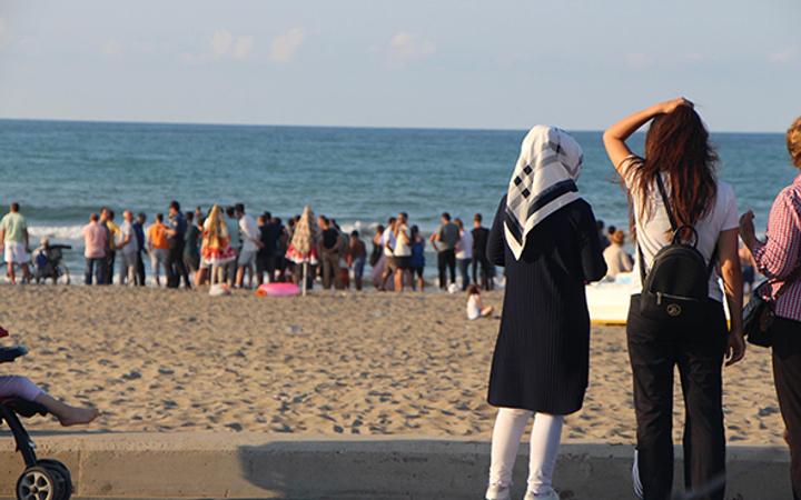 Samsun'da denize giren genç boğuldu!