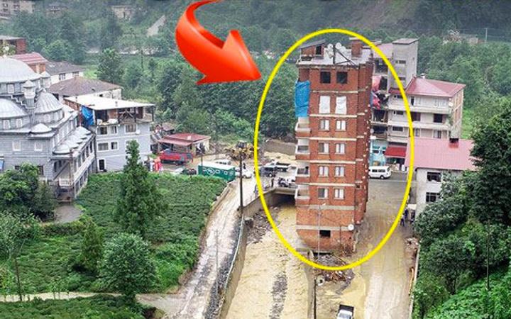 Sel feleketindeki kaçak binanın sahibinden şok savunma!