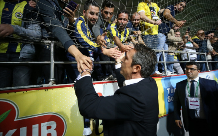 Ali Koç'tan olay sözler: Taraftardan özür diledi!