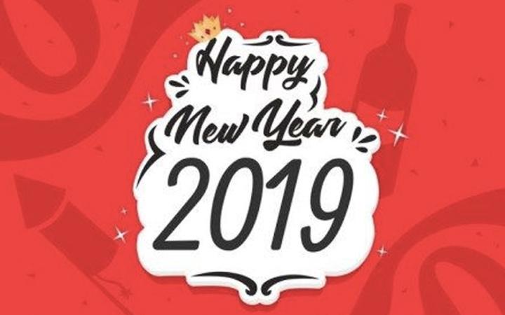 2019 yeni yıl mesajları resimli yılbaşı kartı sözleri