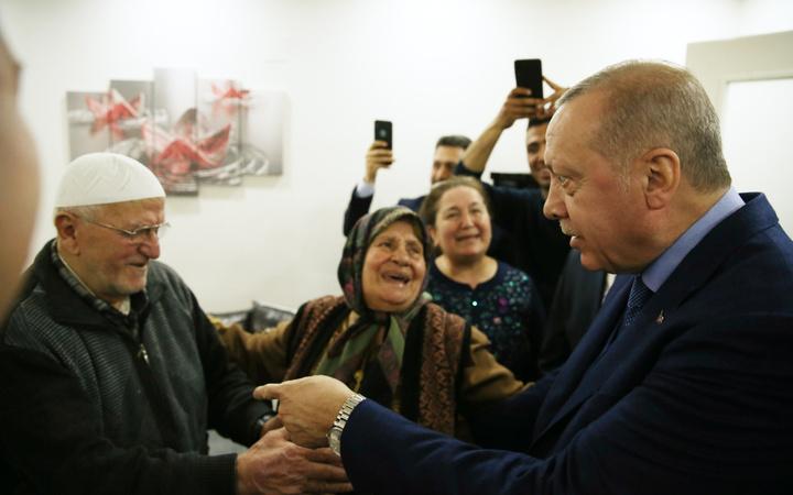 Erdoğan, Öngeç ailesine misafir oldu