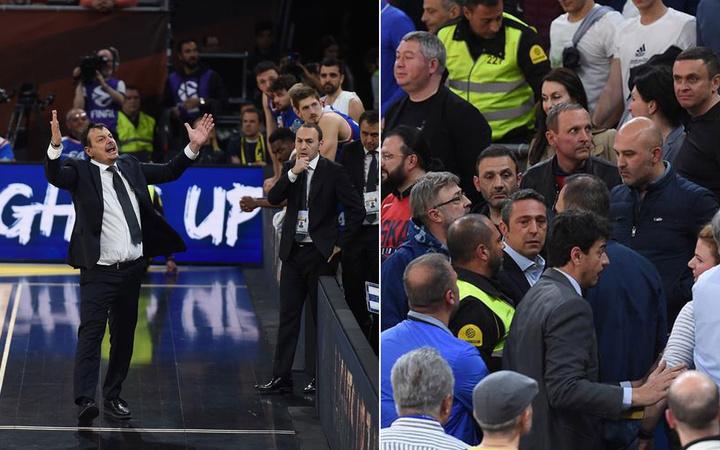 Ali Koç araya girdi Ergin Ataman'la Fenerbahçeliler kapıştı