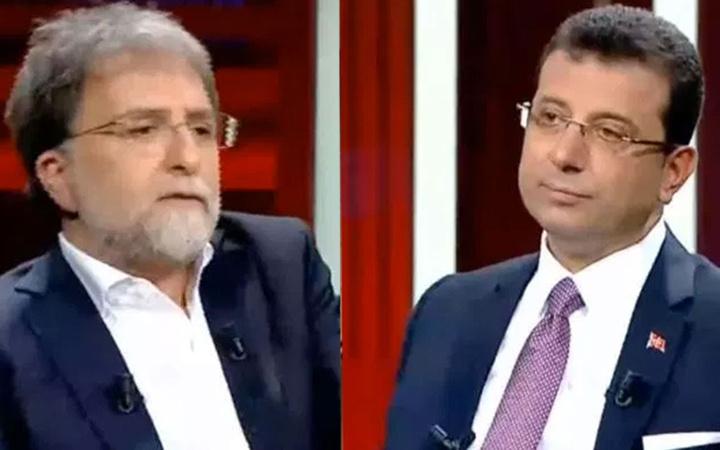 Ahmet Hakan'ın Ekrem İmamoğlu programına ünlülerden tepki yağdı!