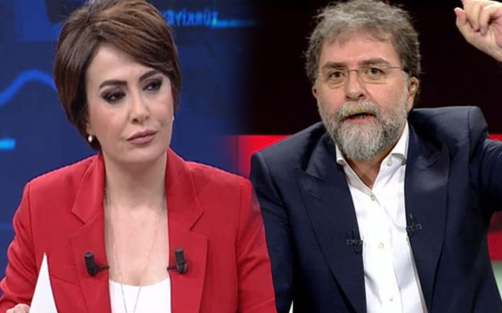 Didem Arslan Yılmaz'ın Ahmet Hakan'a canlı yayında olay göndermesi