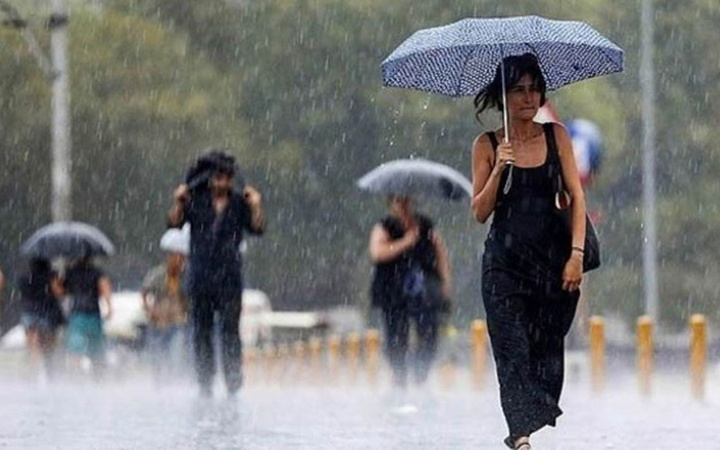 Sıcaklara veda! Meteoroloji'den sağanak yağış uyarısı