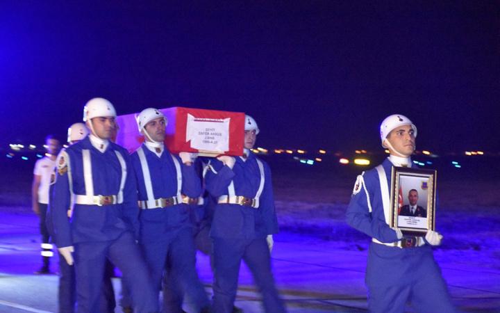 Şehit Binbaşı Akkuş, memleketi Samsun'a uğurlandı