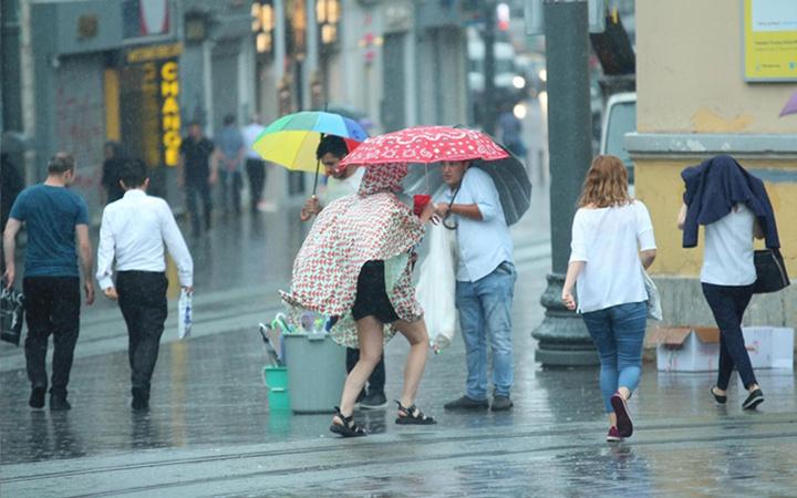 İstanbul ile birlikte birçok kente gök gürültülü sağanak yağış uyarısı
