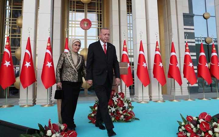 Cumhurbaşkanı Recep Tayyip Erdoğan'dan Beştepe'de 30 Ağustos Zafer Bayramı resepsiyonu
