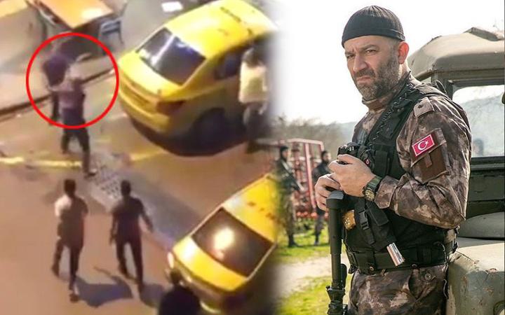 Arka Sokaklar'ın Mesut'u Şevket Çoruh ve Murat Akkoyunlu'ya bıçaklı saldırı görüntüleri