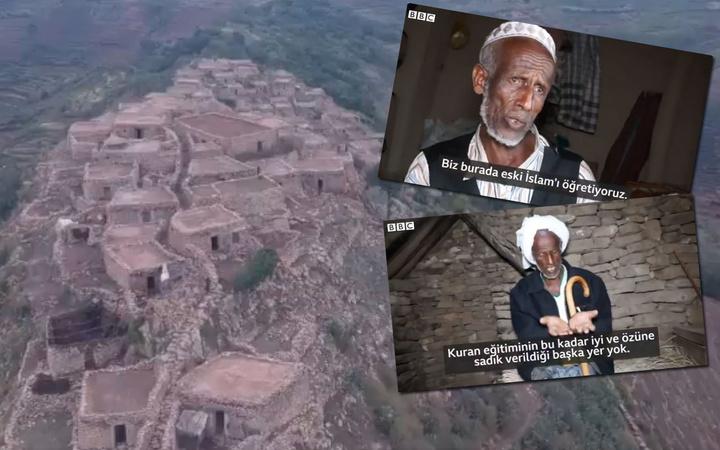 Tam 900 yıllık köy! Kur'an-ı Kerim en iyi Etiyopya'nın dağında öğretiliyormuş